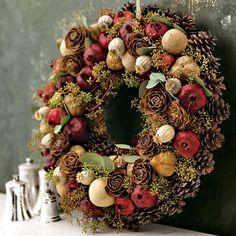 Guirlanda não é só coisa de decoração de Natal ;)
