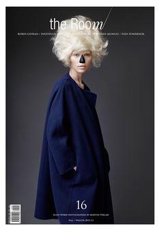 Cover Photo by Marton Perlaki at Quadriga  Fashion Editor: Ali Toth & Aniko Virag  Make up: Robert Greene (See Management)  Hair: Tamás Tüzes at L'Atelier NYC  Model: Aline Weber at Next NYC