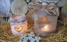 Image result for výroba svícnů ze zavařovacích sklenic