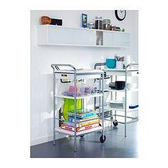 ÖSTHAMRA Seinäkaappi + 2 vitriiniovea - IKEA