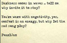 Pearl Jam lyrics