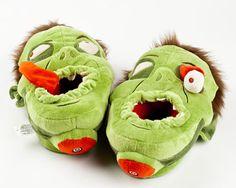 Zombie Slippers | Novelty & Horror Slippers | BunnySlippers.com
