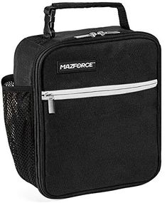 MAZFORCE Original Lunch Box Insulated Lunch Bag - Tough & Spacious Adult Lunchbox to Seize Your Day (Force Black - Lunch Bags Designed in California for Men, Adults, Women): Kitchen & Dining Dining Room Windows, Dining Room Colors, Kitchen Dining Sets, Room Kitchen, Dining Area, Reusable Lunch Bags, Insulated Lunch Box, Gadgets, Thing 1