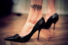 Tattoo on ankle - 60  Ankle Tattoos for Women  <3 <3
