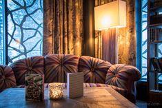 Valsana Hotel - a new bijou at the entrance to Arosa, Switzerland Hotel Apartment, Switzerland, Entrance, Hotels, Around The Worlds, Curtains, Interior Design, Home Decor, Arosa