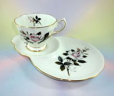 Royal Albert Queen's Messenger Tea Cup and Saucer Tennis or Snack Set