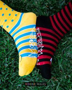 Little Panda Fashion Dress Socks Short Socks Leisure Travel 11.8 Inch