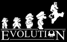 EVOLUTION  You won't find this in the science textbooks.  Created/submitted by Mongosling.