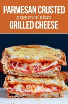 These make the perfect lunch! More Sandwiches Wraps, Pepperoni Pizza, Pizza Sandwiches, Grilled Cheese Sandwiches, Parmesan Crusts, Pizza Grilled Cheeses, Crusts Pepperoni, Parmesan Crusted, Cheese Crusts This little dazzler has all the amazingness of pepperoni pizza sandwiched between two perfect grilled pieces of bread. #GrilledCheeseMonth #recipe #cooking Pepperoni Pizza Grilled Cheese with a crispy parmesan cheese crust - your every day grilled cheese sandwich has been replaced…
