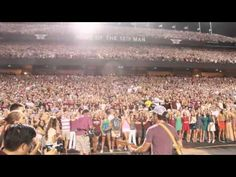 """Granger Smith """"We Bleed Maroon"""" at Kyle Field  Soooo awesome!!! Can't think of another song besides the national anthem that 40,000 plus can sing all together! Whoop!!!"""