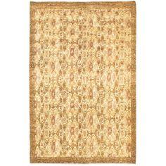 ecarpetgallery Jaipur Beige Wool Rug (6' x 9') (Beige Rug (6' x 9')), Size 6' x 9' (Cotton, Abstract)