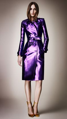 Burberry - London Fashion Week 2013 - Purple