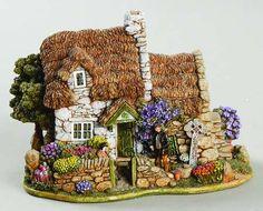 Grandma's Lilliput Lane cottage collection.