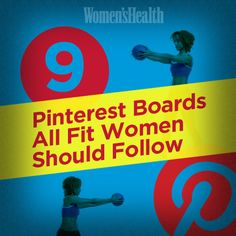 Follow these boards to add fit-spiration to your Pinterest feed.