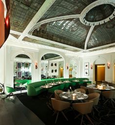 restaurant hotel vernet paris 8 champs elysees design luxury