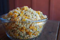 Quinoa with Butternut Squash and Pine Nuts