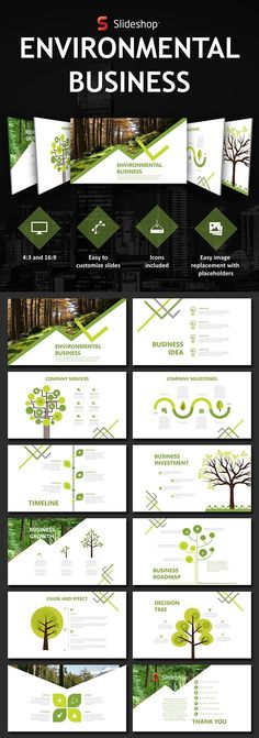Environmental Business - #PowerPoint Templates #Presentation Templates