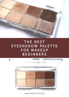 Every makeup beginner should start with this eyeshadow palette.