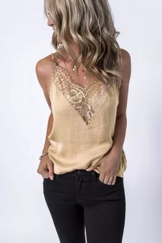 The boho tank tops at emmer & oat make it simple to create an easy, cute outfit each day. Collect our women's casual tank tops & enjoy same-day shipping! Red Lace Crop Top, Black Crop Top Tank, Lace Crop Tops, Lace Top Outfits, Cute Outfits, Ladies Dress Design, Ideias Fashion, Leggings Are Not Pants, Spaghetti Straps