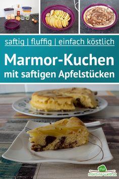 Ich mag Kuchen! Ich mag fluffigen, weichen Kuchen. Wenn dann noch Früchte drauf sind.....himmlisch. Das Rezept für diesen Kuchen findest du natürlich schon auf meinem Blog. Pizza Salami, Tacos, Mexican, Ethnic Recipes, Blog, German Language, Marble Cake, Small Cake
