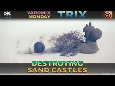 VMT 029 - HOUDINI - Destroying Sand Castles - YouTube