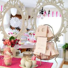 tea party baby shower (girl)