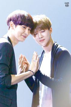 EXO | EXO-K | Park Chan Yeol (chanyeol) & Oh Se Hun (sehun)