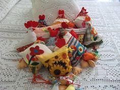 galinhas em tecido e feltro - Buscar con Google
