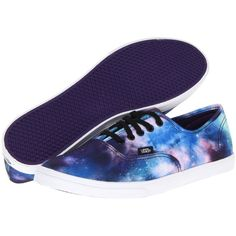 Vans Authentic Lo Pro White/Navy) Skate Shoes, Multi (£16) ❤ liked on Polyvore featuring shoes, sneakers, multi, vans footwear, black skate shoes, black evening shoes, white trainers and vans shoes