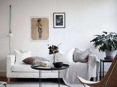 A Swedish sitting room in perfect harmony / Stadshem.