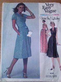 Vogue 1610 Designer Dress Diane von Furstenberg sld 31+6.45 7bds 3/20/16 c/c Sz12