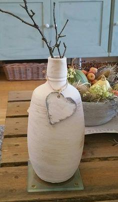 Kalkverf kruik fles