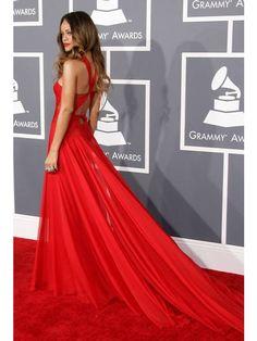 Halter Sheath/Column Sleeveless Pleats Floor-length Chiffon Prom Dress