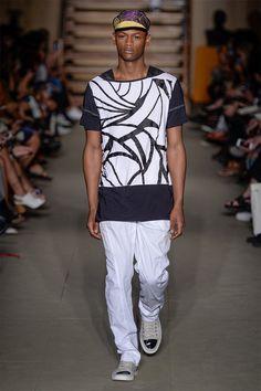 BRASIL S/S 16 | São Paulo Fashion Week | LINO VILLAVENTURA | Prints in black and white