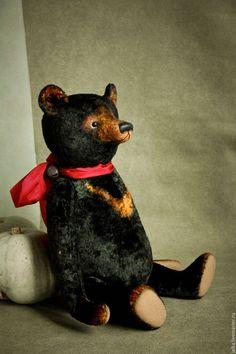 Мишки Тедди ручной работы. Ярмарка Мастеров - ручная работа. Купить Медведь…