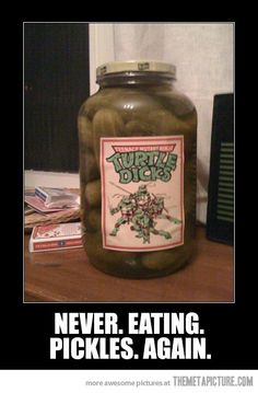 Turtle Pickles…
