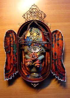 Altars:  Goddess #Shrine, by Gary Reef.