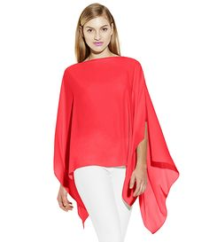 Vince Camuto Poncho with Camisole | Dillards.com