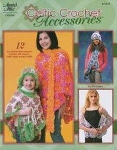 Celtic Crochet Accessories - I Crochet World Crochet World, Knit Crochet, Crochet Kits, Annie's Attic, Baby Kit, Baby Afghans, Kits For Kids, Crochet Accessories, Celtic