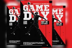 The Basketball Game Day Vol 2 Flyer was designed to promote your next Basketball Game Day or Match Party Event. This print ready premium flyer template includes Business Brochure, Business Card Logo, Brochure Design, Flyer Design, 3d Design, Flyer Size, Sports Graphic Design, Bar Logo, Text Tool