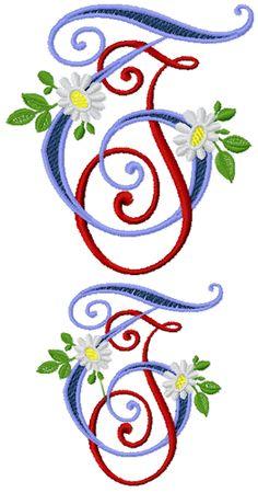 monograms JT - TJ 2