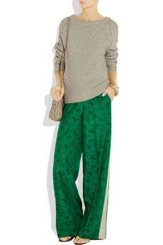 Wide-leg trousers for slouchy Saturdays