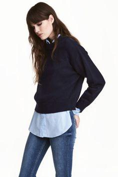 Knitted jumper Model