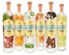 Here you go Andrea. Prairie Vodka Infusions: All sorts of good things inside.   Yumm!
