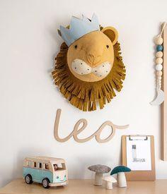 Wall Decoration For Kids Room Playrooms 17 Ideas Lion Nursery, Woodland Nursery Boy, Big Boy Bedrooms, Baby Boy Rooms, Nursery Themes, Nursery Decor, Jungle Room, Kids Room Design, Nursery Inspiration