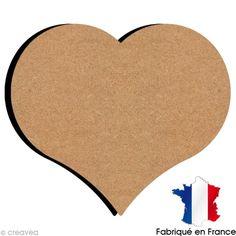 Compra nuestros productos a precios mini Corazón de madera 26 cm - Entrega rápida, gratuita a partir de 89 € !