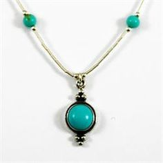 A natural turquoise Native American pendant necklace from Brave Design £21.00 available at http://www.melburygallery.co.uk/shop/necklaces/brave-turquoise-circular-pendant-silver-necklace.htm