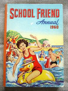 Excited to share this item from my shop: Vintage School Friend Annual Collectible Book. Story Titles, Vintage School, Vintage Children's Books, Wishing Well, Book Photography, Book Collection, Paperback Books, Comic Strips, Book Worms