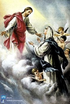 Happy Feast of the Assumption of Mary!  Remember today is a Holy Day of Obligation  Who has been to Mass already?