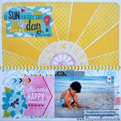 a SUNsational day - Scrapbook.com